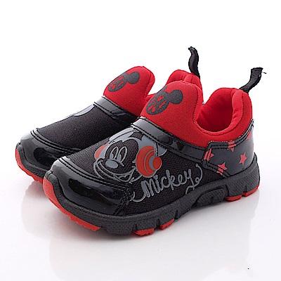 迪士尼童鞋 米奇星星休閒鞋款 FO63062黑(中小童段)