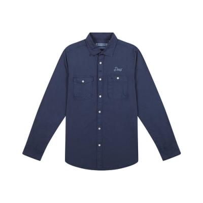 Deus The Wing Shirtt 長袖襯衫-藍 (男)