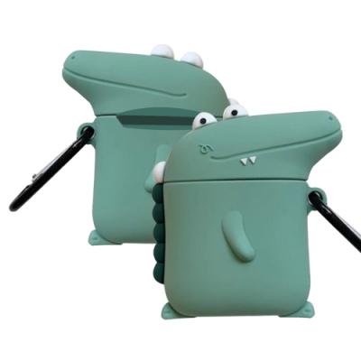 AirPods 1/2 鱷魚造型 藍芽耳機 保護套