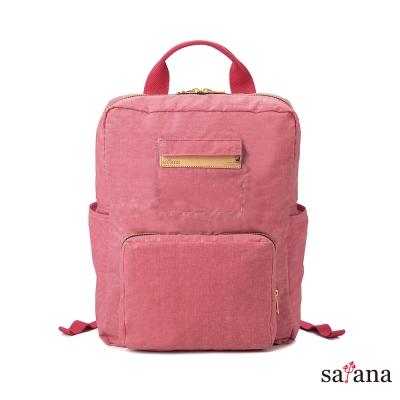 satana - 極簡輕便摺疊後背包 - 歡喜玫瑰