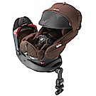 Aprica 平躺型嬰幼兒汽車安全臥床椅Fladea grow HIDX旅程系列 日初橙紅