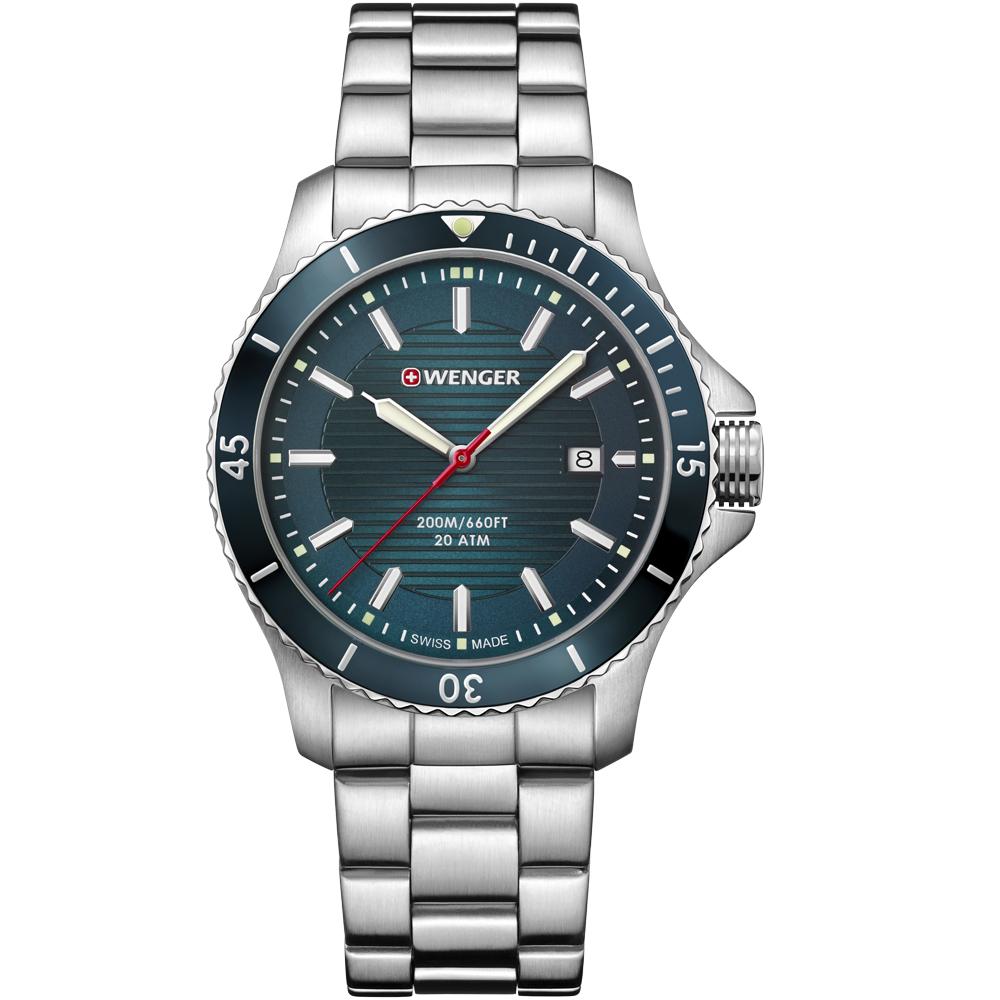 瑞士WENGER Seaforce海勢系列征服怒海潛水錶(01.0641.129)