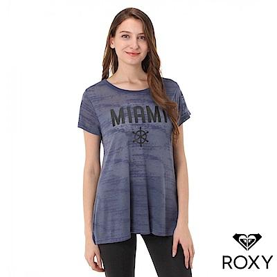 【ROXY】PUERTORICO・MIAMI・BAHAMAS 絲蛋白加工T恤