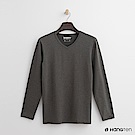 Hang Ten - 男裝 - ThermoContro系列-柔軟保暖V領上衣-綠