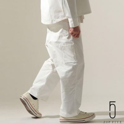 ZIP日本男裝 縫線設計寬褲(6色)