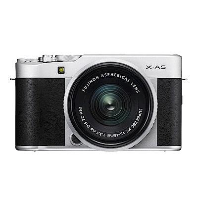 FUJIFILM X-A5+XC15-45mm 單鏡組*(中文平輸) @ Y!購物