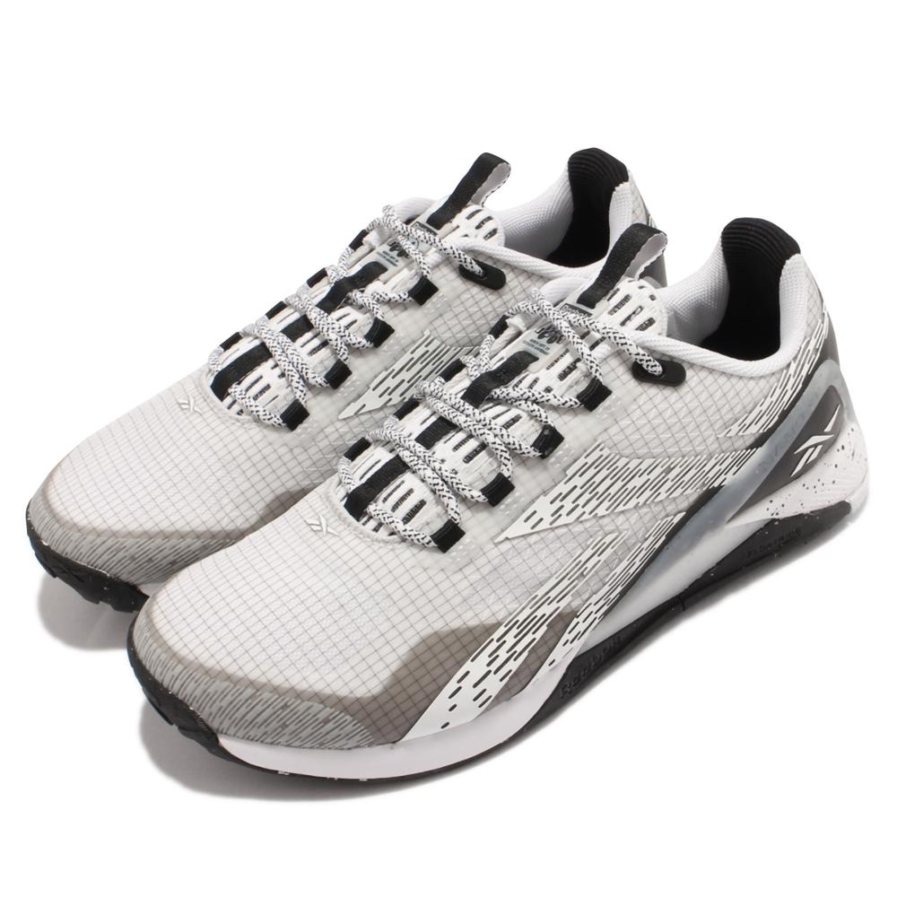 Reebok 訓練鞋 Nano X1 TR Adventure女鞋 室內外訓練 支撐 穩定 包覆 運動 灰 白 GW2831