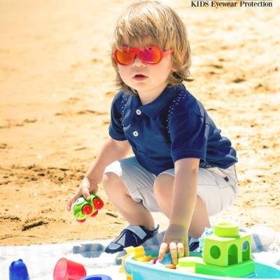 【瑞士SHADEZ】兒童太陽眼鏡 東方紅 0-7歲
