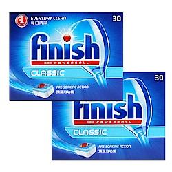 亮碟Finish-洗碗機強力洗滌球(30顆)X2