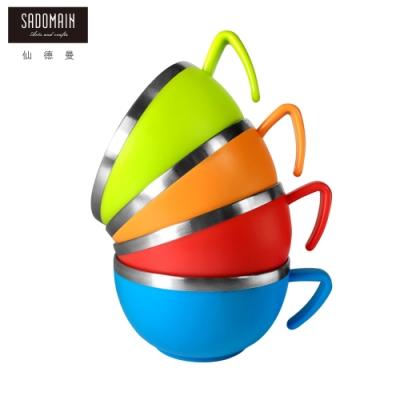 仙德曼SADOMAIN 森活304不鏽鋼杯碗420ml(速)
