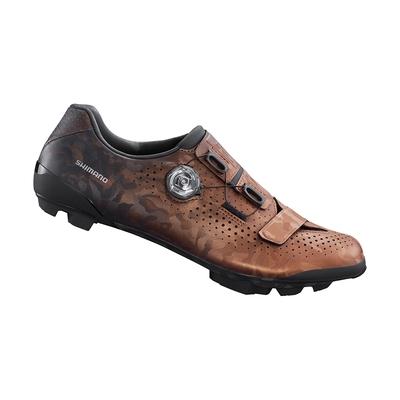 【SHIMANO】RX800 男款碳纖維複合GRAVEL車鞋 寬楦 古銅色