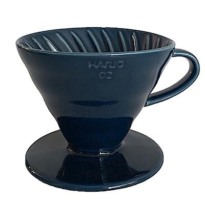 HARIO V60藏青藍02彩虹磁石濾杯 VDC-02-IBU-TW