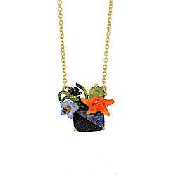 Les Nereides 動物花園系列 海洋花園藍寶石項鍊