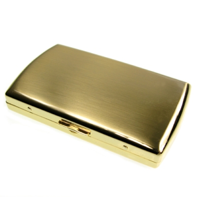 Pearl 珍珠-日本進口~高質感煙盒(金色)