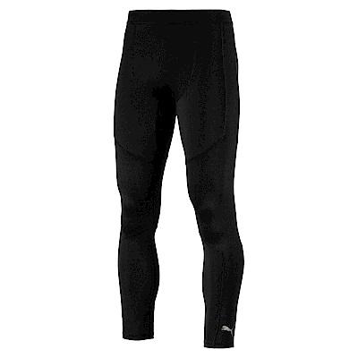 PUMA-男性訓練系列Energy素面緊身褲-黑色-歐規