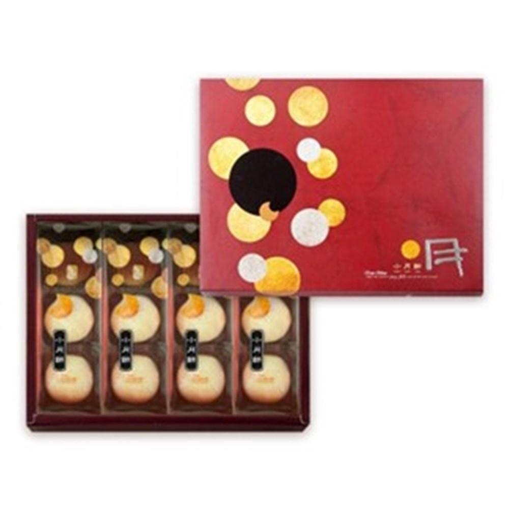豐興餅舖 綜合小月餅禮盒X2盒(招牌小月餅6入+綠豆小月餅6入/盒)