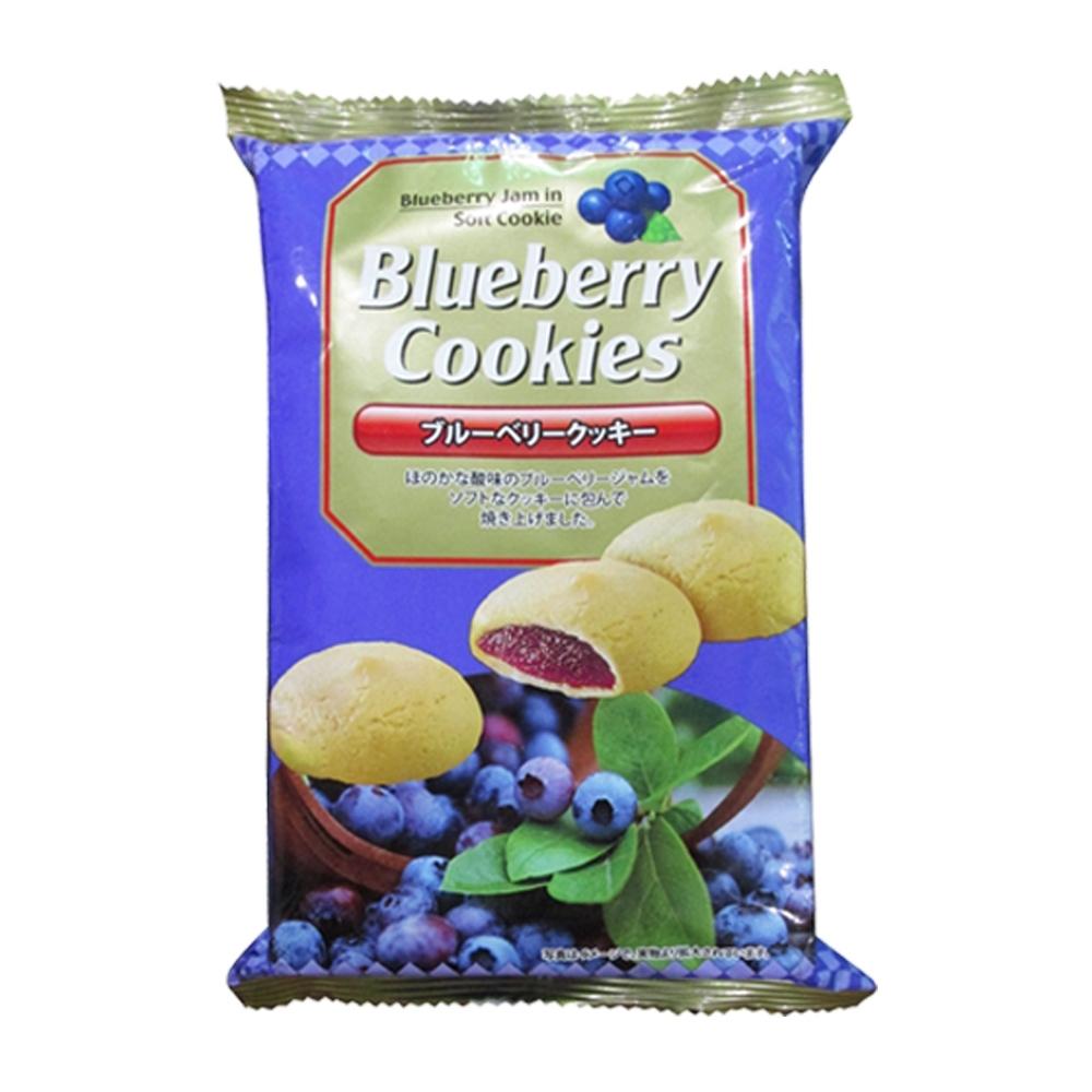 真美味 藍莓風味夾心餅乾100g