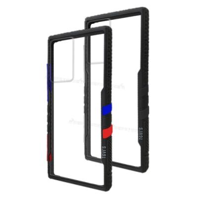 TGVi S 極勁2代 三星 Samsung Galaxy Note20 Ultra 5G 個性撞色防摔手機殼 保護殼 (旋風黑)