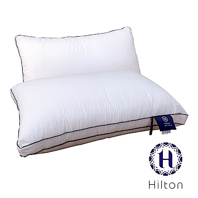 Hilton 希爾頓 五星級御用 雙滾邊純棉立體抗蹣抑菌枕