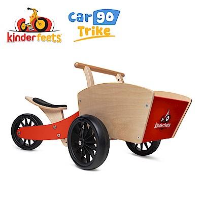 Kinderfeets 美國木製平衡滑步教具車_初心者收藏家系列 (紅魔法)