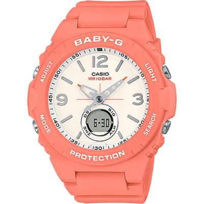 CASIO 卡西歐 BABY-G 繽紛百搭手錶(BGA-260-4A)