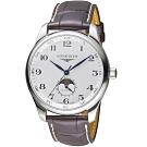 LONGINES浪琴巨擎系列經典月相機械錶(L29194783)