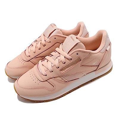 Reebok 休閒鞋 CL Leather 低筒 運動 女鞋