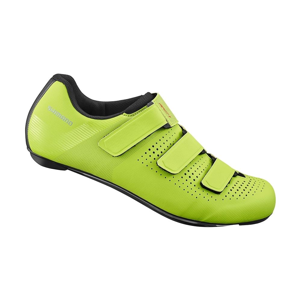 【SHIMANO】RC100 男款性能型公路車鞋 標準楦 黃色