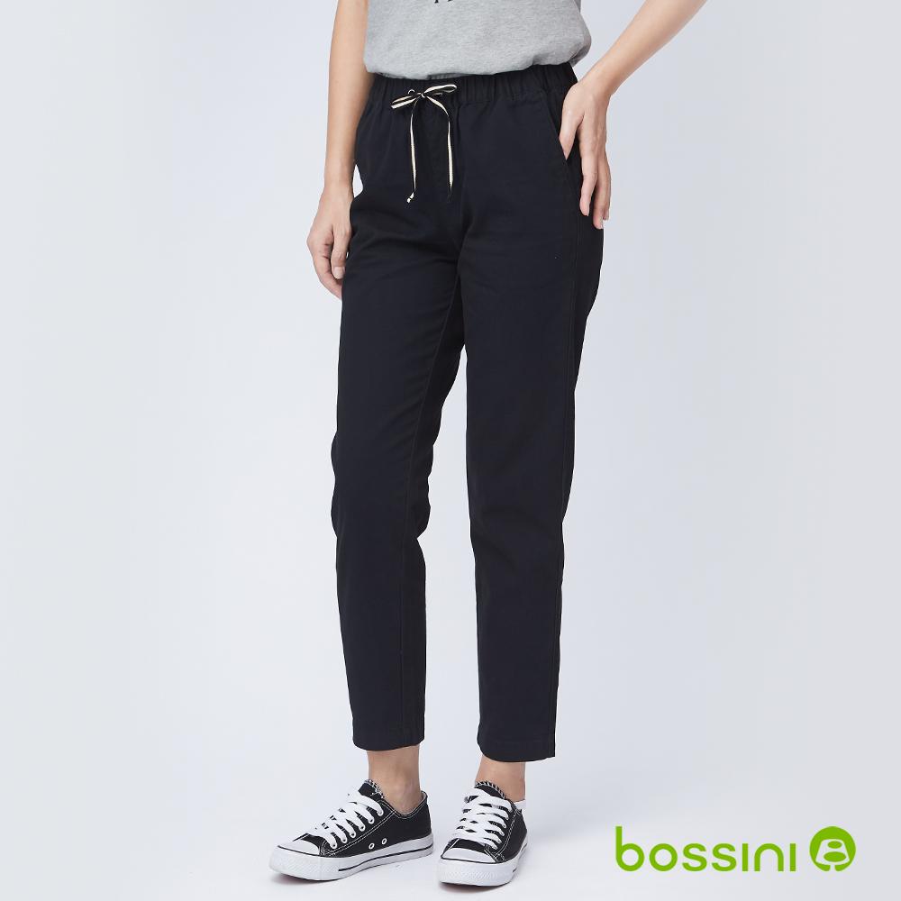bossini女裝-輕鬆長褲03黑