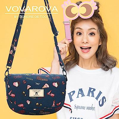 VOVAROVA x 莎莎-帶我走!半月包-金莎假期-環遊世界系列