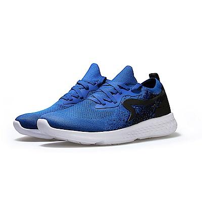 【ZEPRO】男子Q-RUN運動時尚休閒鞋-湛藍色