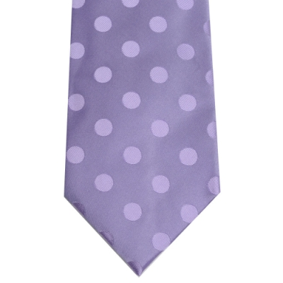 DAKS 圓點圖騰浮水印領帶(紫色)