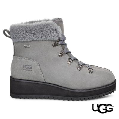 UGG雪靴 Birch Lace-Up個性絨毛機能雪靴