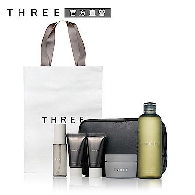 THREE 都會型男髮品特惠組
