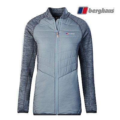 【Berghaus貝豪斯】女款輕量彈性透氣外套H22F36灰色/灰色