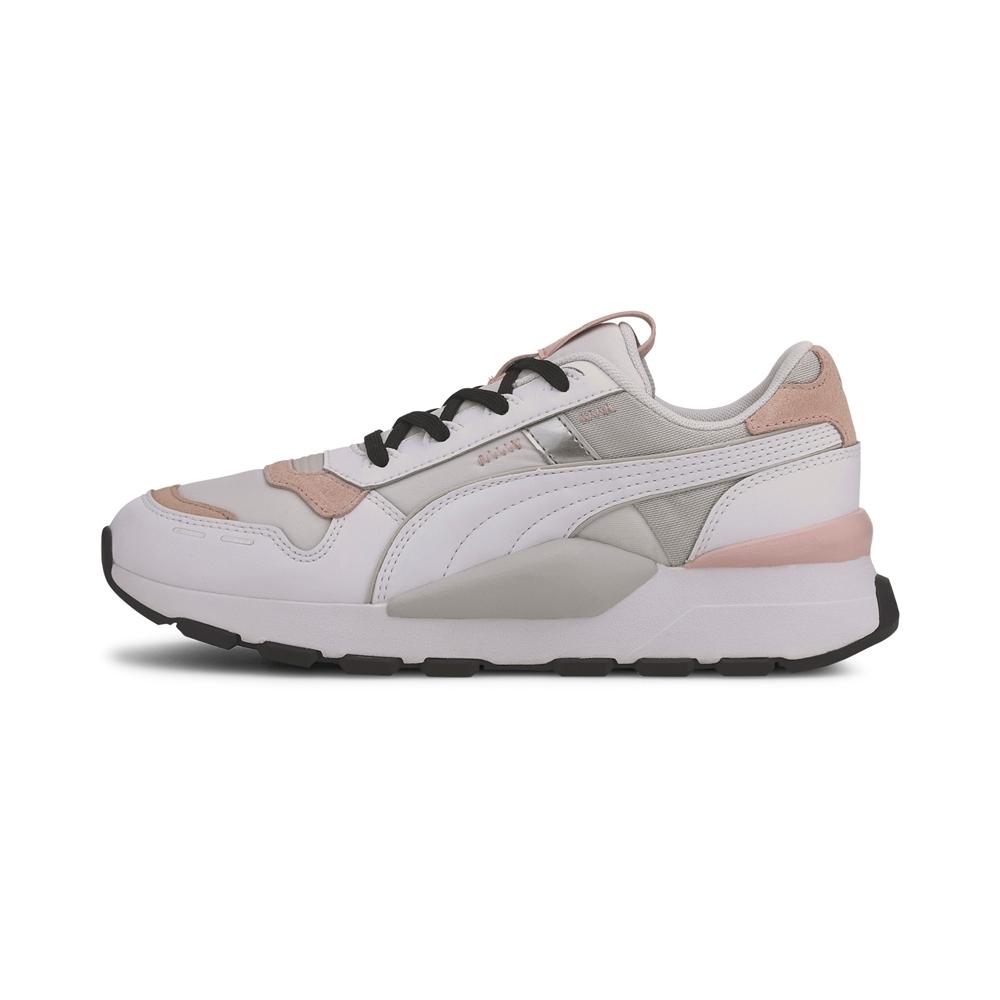PUMA-RS 2.0 Futura 男女復古慢跑運動鞋-白色