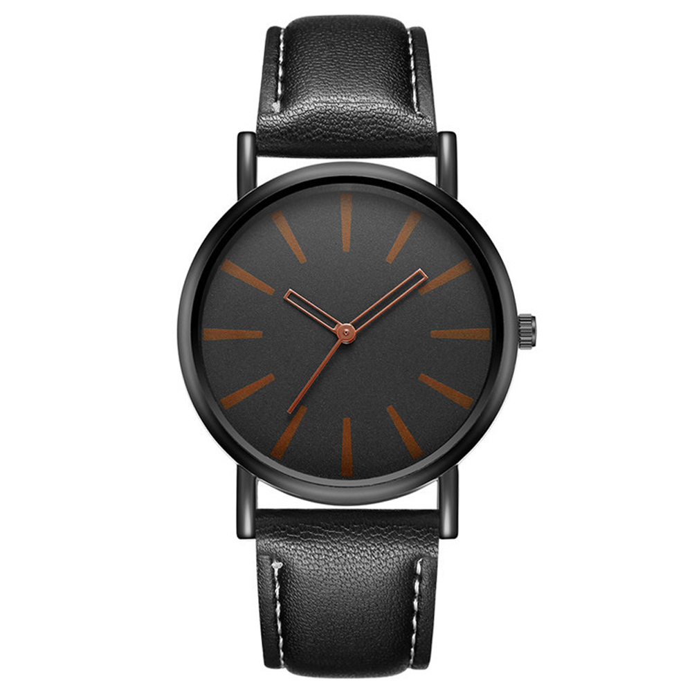Geneva 日內瓦-質感簡約青春刻畫皮帶女錶 (2色任選)