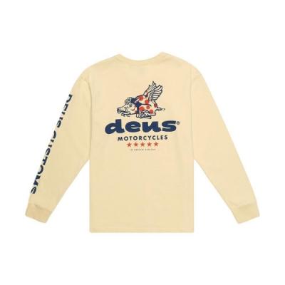 Deus Ex Machina  Flying Pigs Ls T恤-黃(男/女)