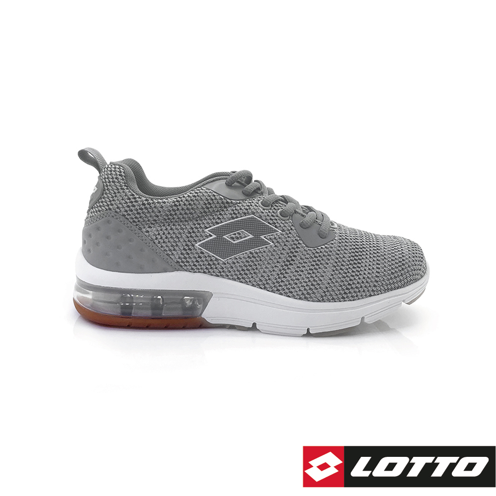 LOTTO 義大利 女 ARIA KNIT 氣墊跑鞋 (灰)