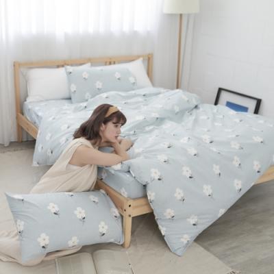 BUHO 雙人三件式床包枕套組(水冉芳華)