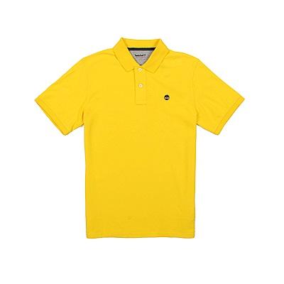 Timberland 男款亮黃色短袖 POLO衫 | A1S2NC88