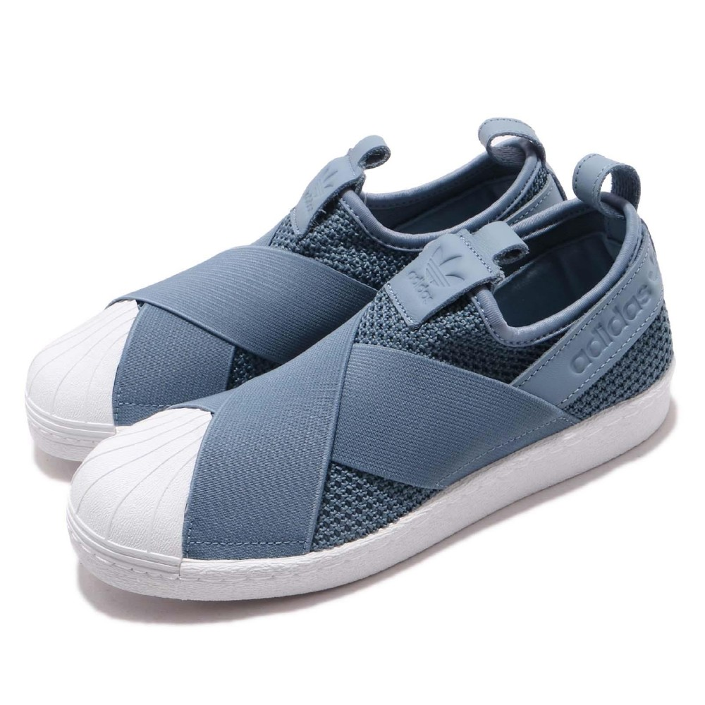 adidas 休閒鞋 Superstar Slip-On 女鞋