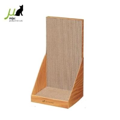 日本Gari Gari Wall(MJU)長方造型 貓抓板 (可立牆)baby-淺木色(AIM-CAT003-4)