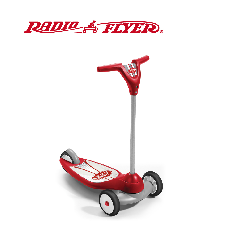 【RadioFlyer】紅行星三輪滑板車
