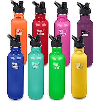 美國Klean Kanteen不鏽鋼冷水瓶800ml