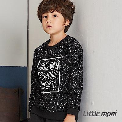 Little moni 圓領印圖上衣(共2色)