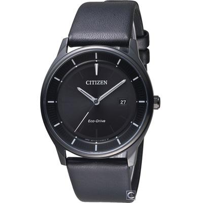 CITIZEN 星辰 簡約時尚光動能腕錶(BM7405-19E)40mm