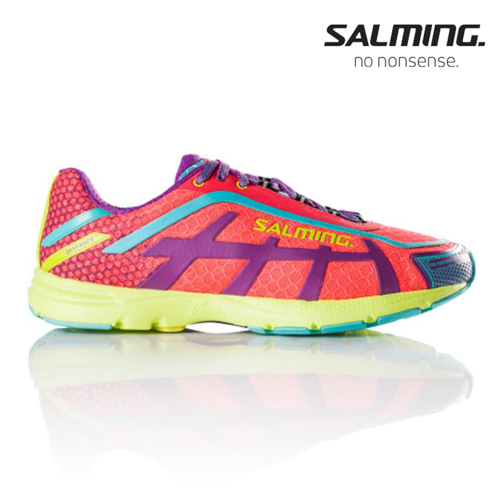 Salming DISTANCE 5 女訓練慢跑鞋 粉