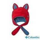 Columbia 哥倫比亞 童款-刷毛造型帽-紅色
