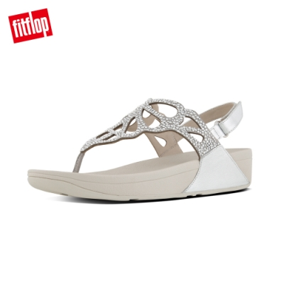 FitFlop BUMBLE CRYSTAL SANDAL 銀色
